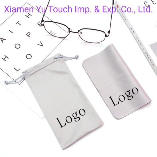 10pcs Drawstring Sunglass Bag in Velvet Material Very Soft Eyeglasses Pouch