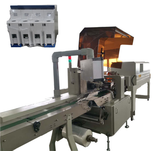 Pillow Style Heat Shrinking Package Machine Linkage Line