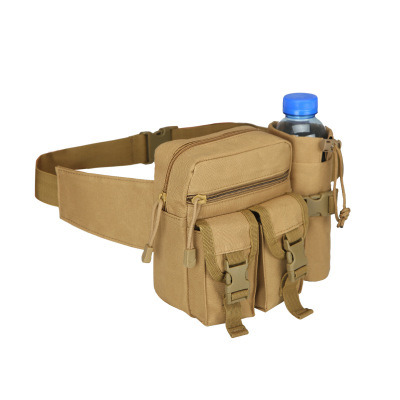 Outdoor Military Water Bottle Waist Bag Fanny Pack Belt Bag