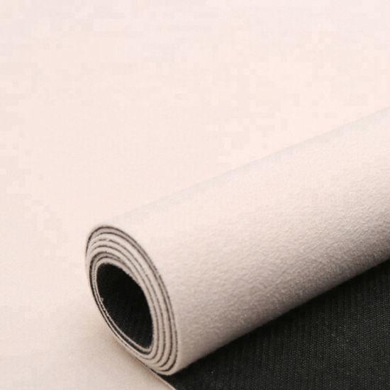 Wholesale Custom Printed Suede Natural Rubber Yoga Mat