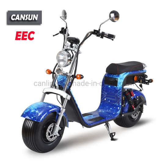 1500W EEC/Coc Electric Scooter with Fat Wheels pictures & photos