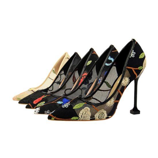 China Cheap Price Wholesale Latest Stiletto High Heel Ladies