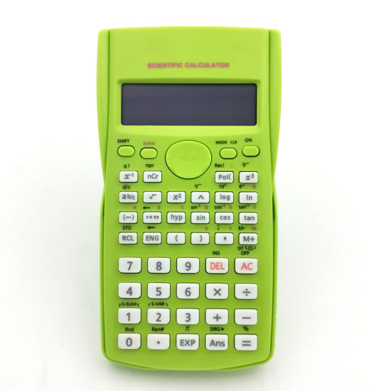 Electronic Scientific Function Calculator 2 Line Stationery