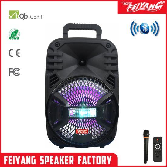 Feiyang Cheap Mini Atcitve Blurtooth Speaker Box 8 Inch F8-16