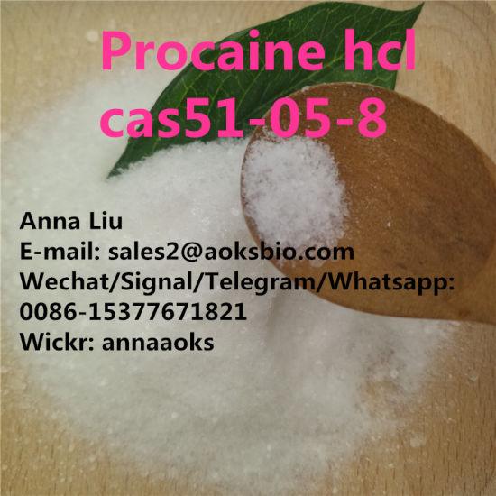 Procaine HCl 51058 Procaine Hydrochloride Powder 51-05-8 Crystalline Pain Killer