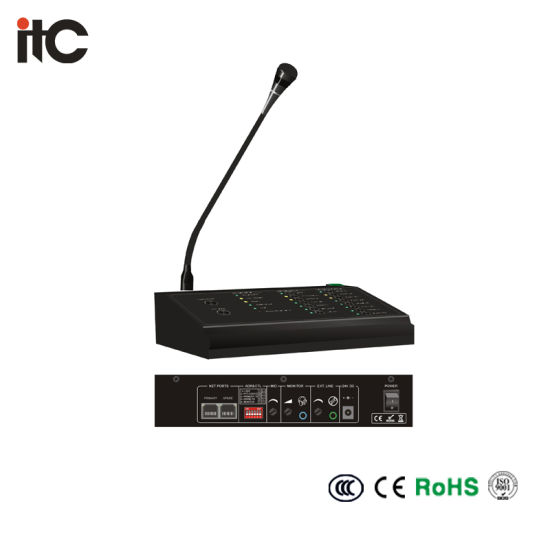 Emergency Voice Remotely Control Voice System Microphone