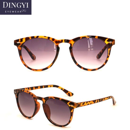 1$ Promotional Hot Selling Vintage Round Sunglasses for Man and Women Classic Retro Designer Sunglasses