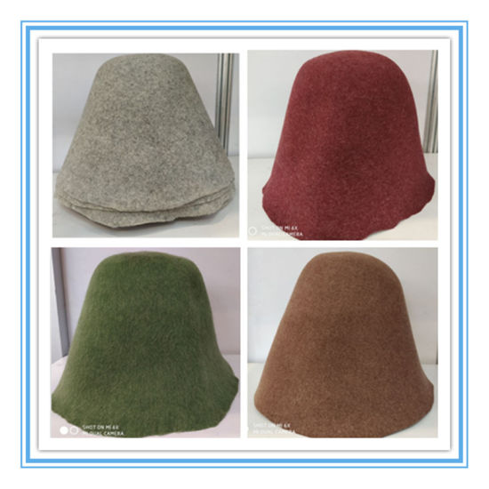 High Quality Wool Felt Cone Hat Body with Different Sizes pictures & photos