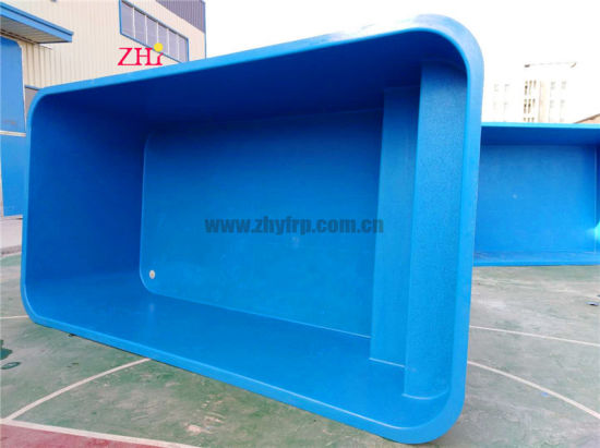 Whole Piece Swimming Pool Body Shell with One End Stair