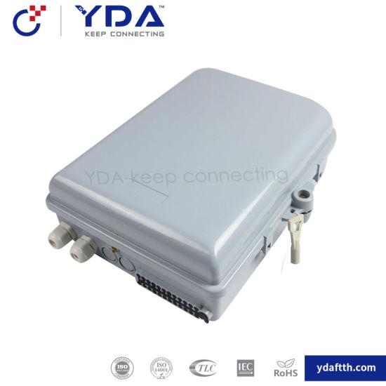 FTTH IP65 Yd-dB024b Outdoor Box 16-24 Port Fiber Optic Plastic Box Distribution Terminal Box