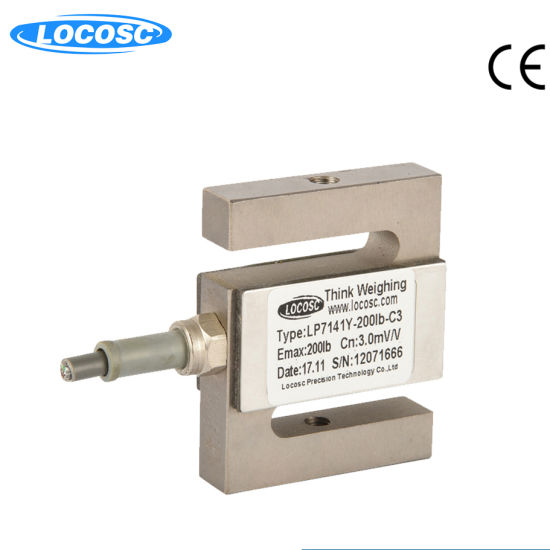 New S type High-Precision Tension and Compression Load Cell Sensor 0~2000kg