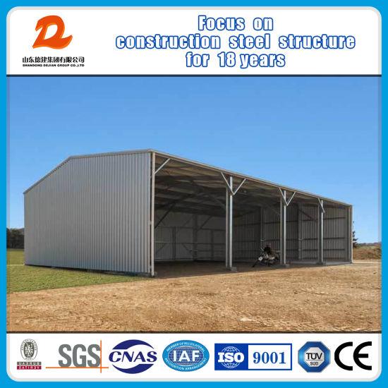 Industrial Modular Prefabricated Prefab Factory Light Frame Steel Structure Warehouse