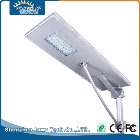 70W Aluminum Alloy Outdoor Integrated Street Solar LED Road Light pictures & photos