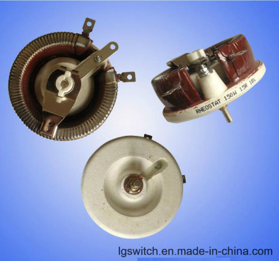 Ceramic Tray Rotary Adjustable Resistor Rheostat 200 Ohm 150W pictures & photos