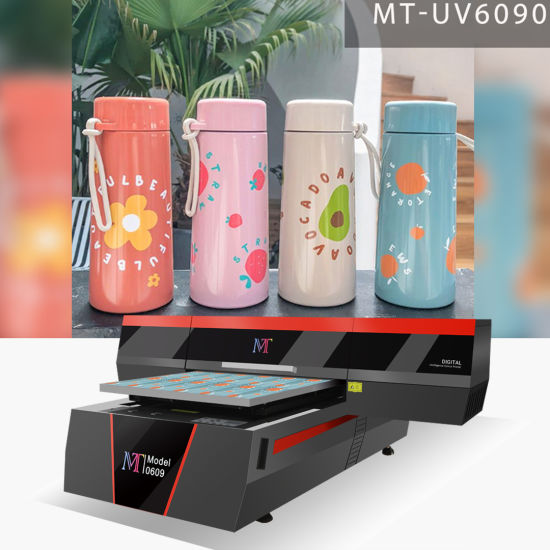 Mt Mtutech Most Popular UV Flatbed Printer for Mug Bottle Phone Case and Various Promotional Items