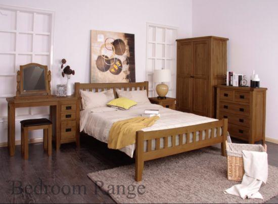 China 316 Range Dark Color Oak Bedroom Sets/Wooden Furniture - China Bedroom Sets, Bedroom Furniture