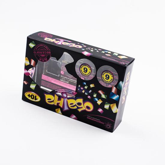 High Quality Custom Printed Logo Clear Gift Box Plastic Packaging