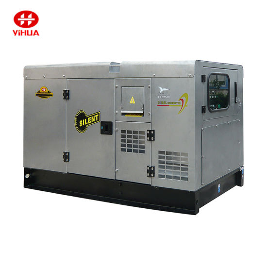 30kVA Denyo Canopy Silent Type Diesel Generator Set, Generating Set From 20kVA to 250kVA with Fire and Gas Alarm.