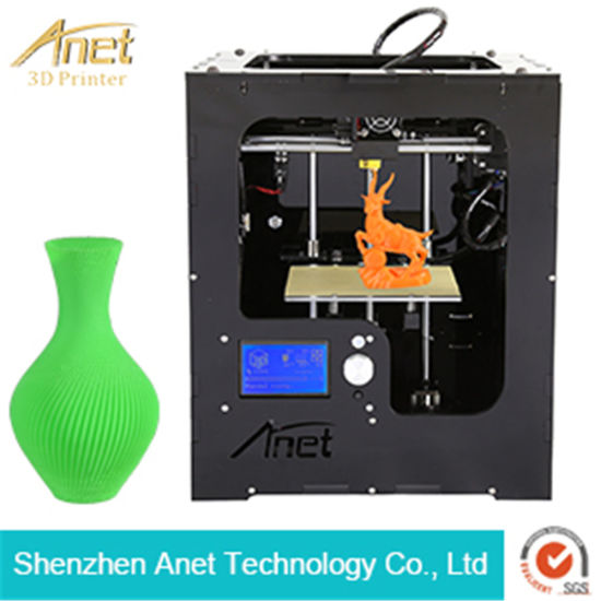 2017 New! Anet A3 Smart LCD Touch 0.1mm Precision Portable 3D Printer