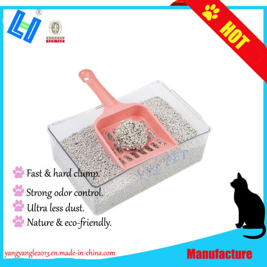 Ultra Less Dust and Strong Clump Bentonite Cat Litter