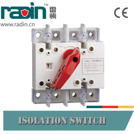 3p/4p Load Isolation Switch/Changeover Switch/Transfer Switch pictures & photos