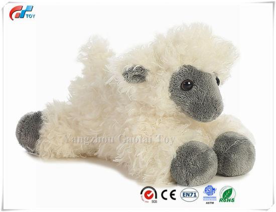 "Black Face Sheep Mini Flopsie 8"" Plush Soft Sheep Baby Toy"