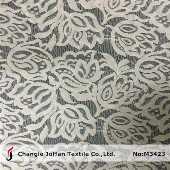 Fashion Allover Nylon Cotton Lace Fabric (M3423)