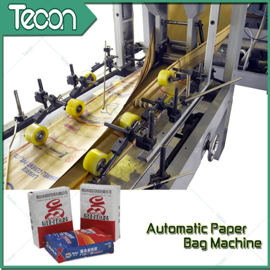 High-Speed and Fully Automatic Cement Paper Bag Making Machinery pictures & photos