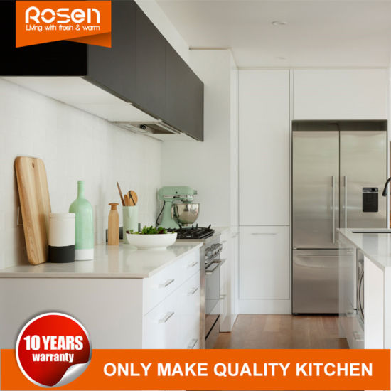 Low Cost High Gloss Spray Lacquer Fininsh Kitchen Cabinets