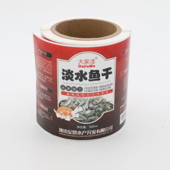 China Cmyk Printing Orange Juice Labels Maker Self Adhesive