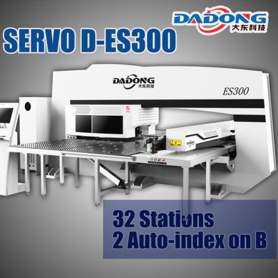 China D-Es300 Servo Fanuc System CNC Turret Punch Press for Sheet