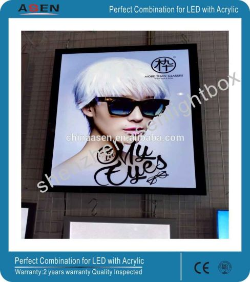 LED Illuminated Pictures Frame Slim Magnetic Advertising Light Box pictures & photos