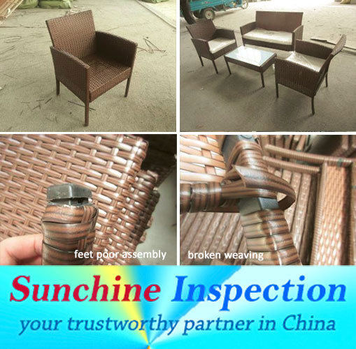 Rattan Furniture Quality Inspection / Pre-Shipment Inspection Service pictures & photos
