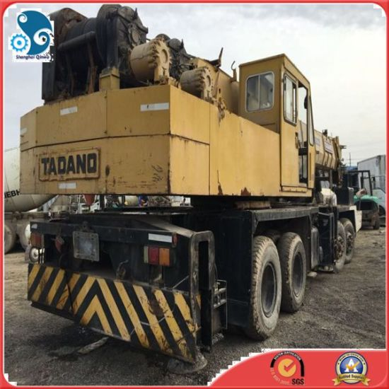 50ton Top Quality Used Tadano Truck Wheel-Moving Hoist Crane pictures & photos