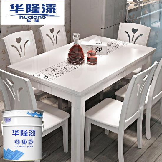 Marvelous Hualong Shining Nc White Varnish Paint (HNC3020)