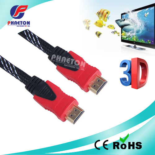 AV Data Communication HDMI Cable with Net Ferrite (pH3-1036) pictures & photos