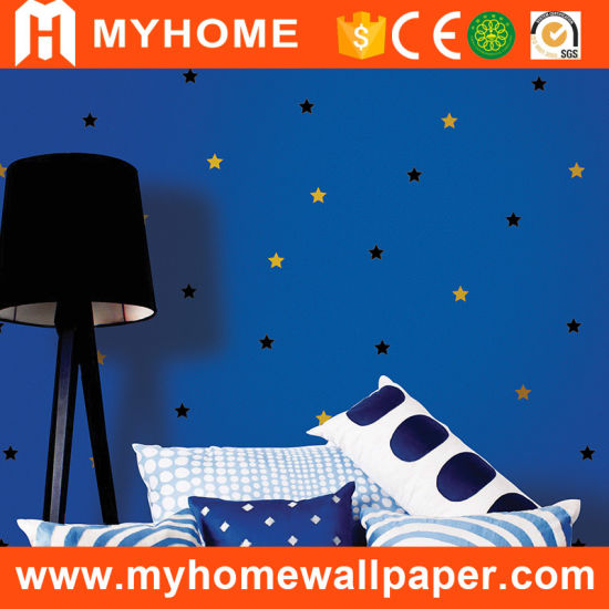 High Grade Kids Wallpaper PVC Washable Wallcovering pictures & photos