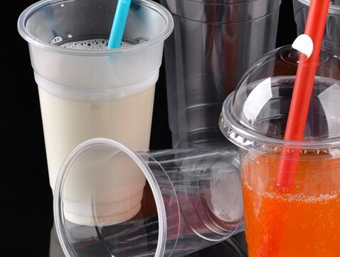 Clear Plastic Juice Cup Wholesale pictures & photos