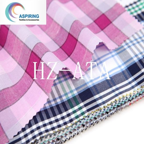 2016 Fashion Shirt Garment Tc Yarn Dyed Fabric pictures & photos