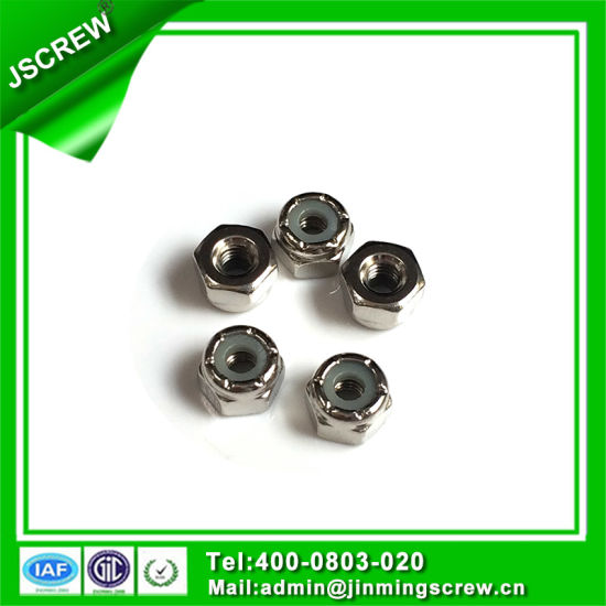 M3 Factory Good Quality Hex Lock Nut pictures & photos