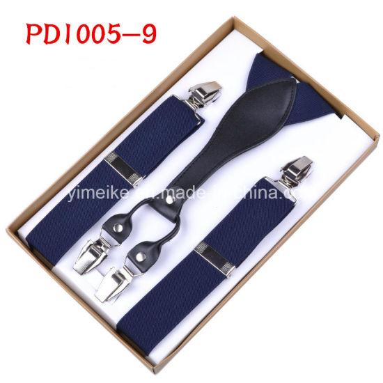 Men's Fashion Clip Suspenders Diagonal Multicolor (BD1005)