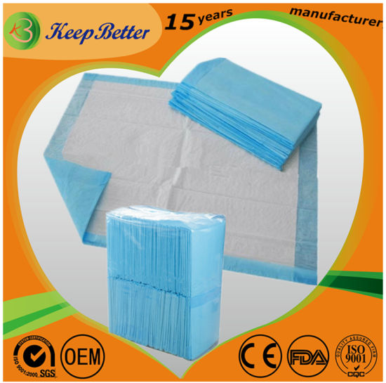 China Health Personal Care Medical Hospital Supply Super Absorbent