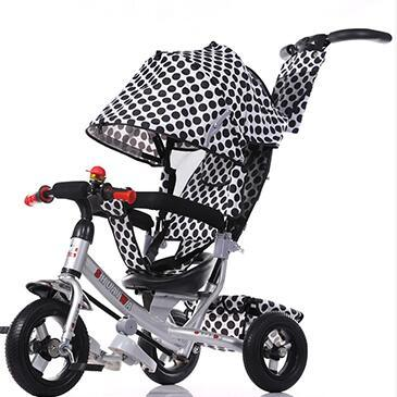 2016 New Kids Tricycle with Back Seat