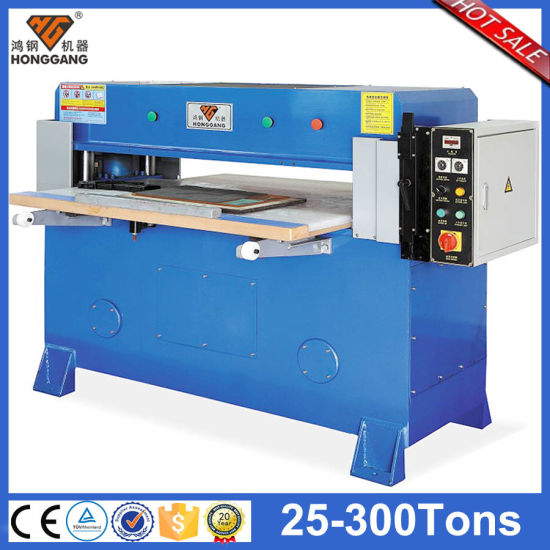 Hydraulic Lowes Plastic Sheet Press Cutting Machine (hg-b30t)
