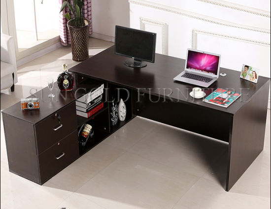 Office Room Counter Table Furniture Design Sz Odt647