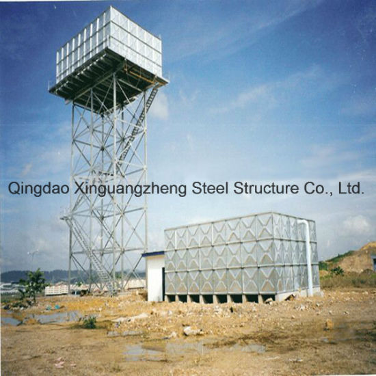 Steel Structure Tower for Water Tank