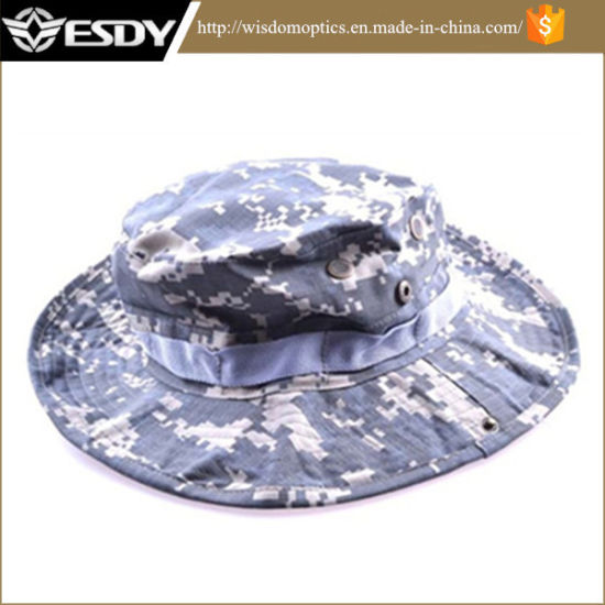 dadc16b0b9a7de Military Fishing Cap Camping Hiking Wide Brim Camouflage Sun Hat pictures &  photos