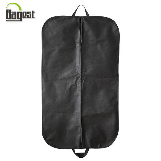 c65129640bd2 China Non Woven Suit Cover with Zipper and Button to Fold - China ...