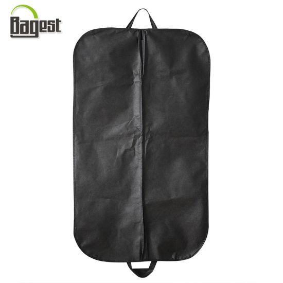 Standard Cheap Non Woven Garment Suit Cover Bag with Zipper/Button