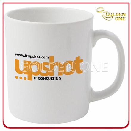 Factory Wholesale Customized Printed White Porcelain Mug